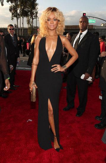 Rihanna black dress tumblr