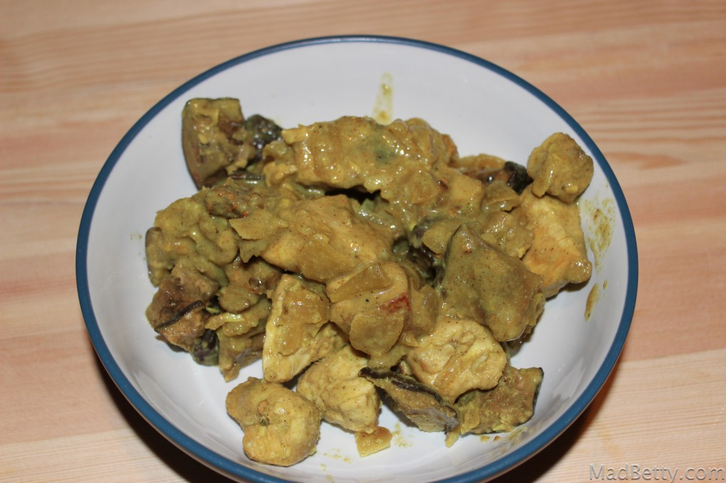 Eggplant and Curry Chicken