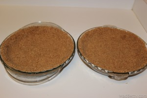 Graham cracker pie crusts