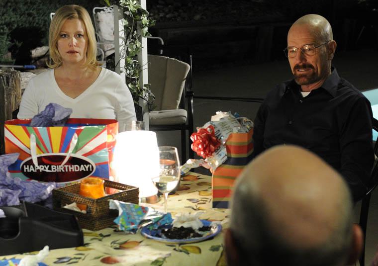 Walt's birthday dinner