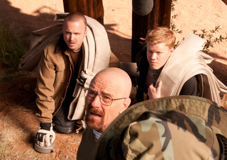 Walter White, Jesse and Todd