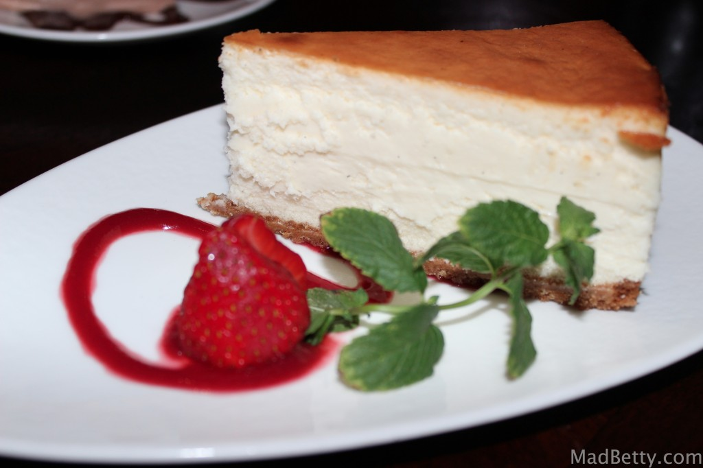 Mizu Vanilla Bean Cheesecake