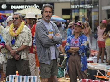 Gary Cole and Amy Sedaris