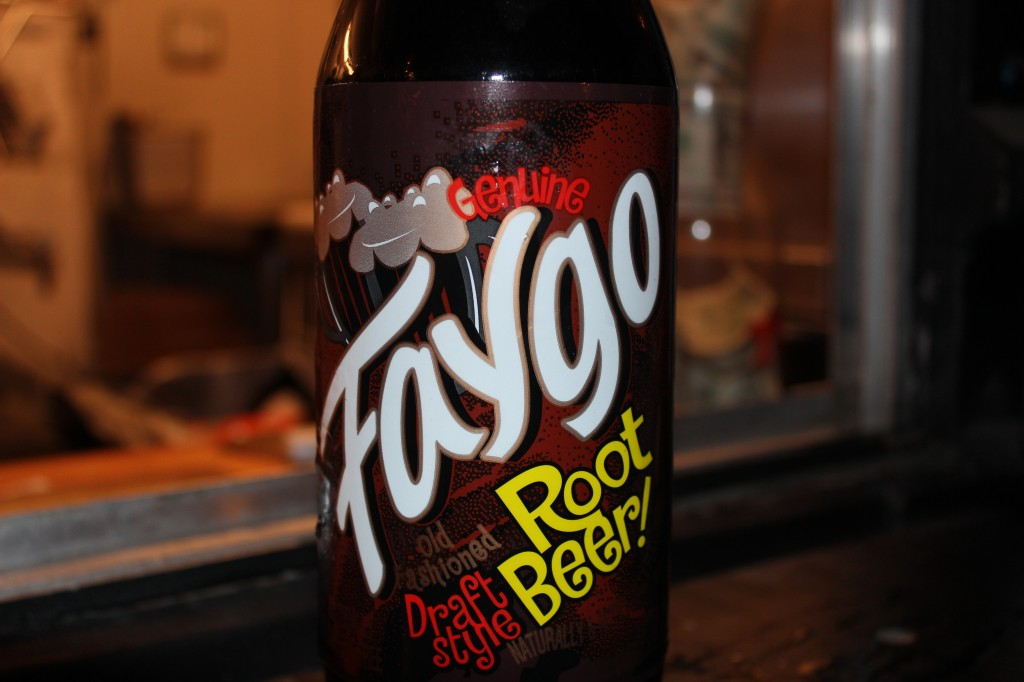 Faygo root beer