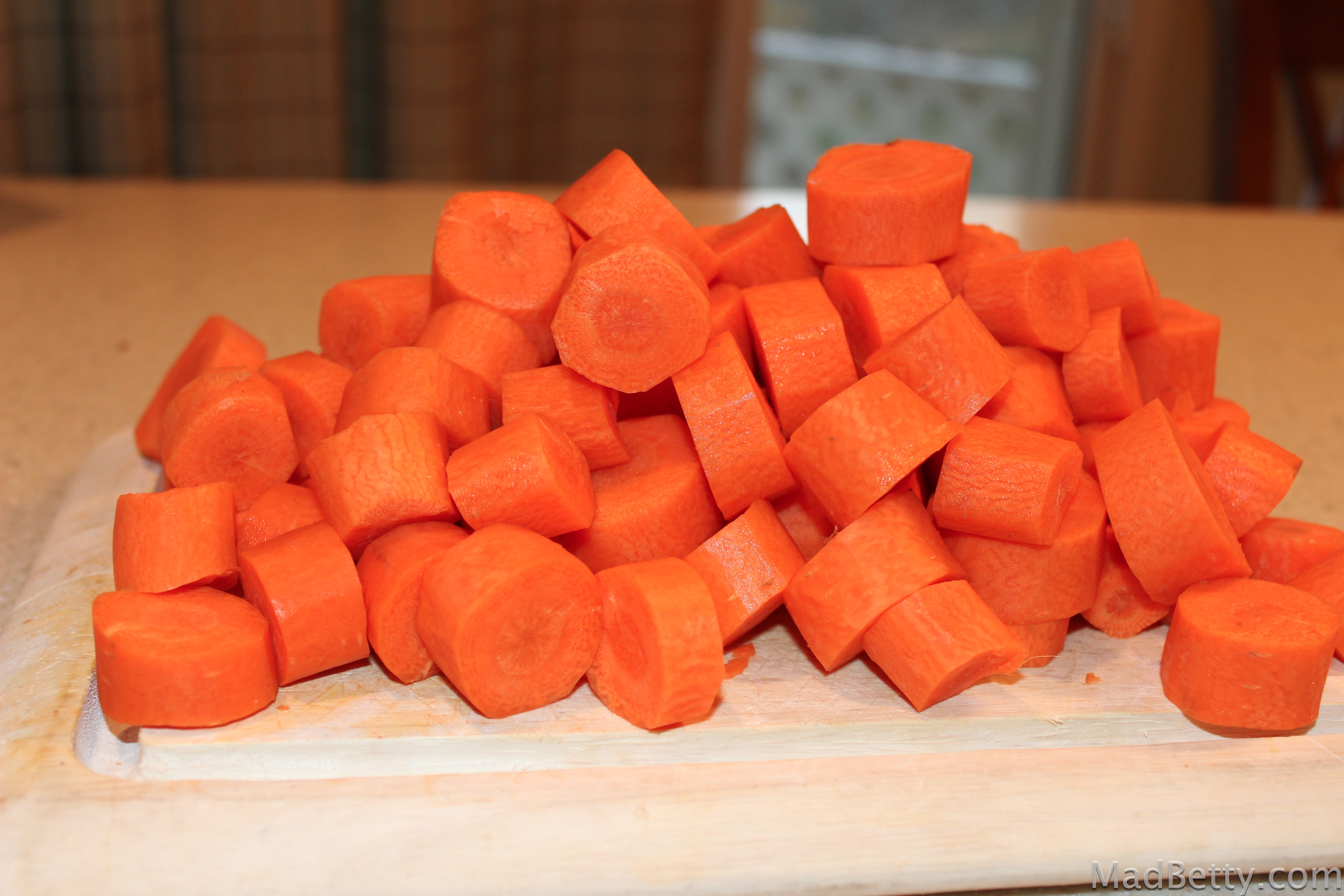 chopped carrots -#main