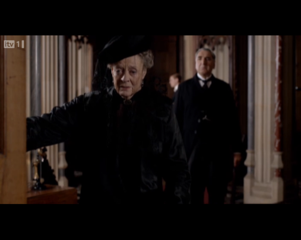 Dowager Countess Mourning