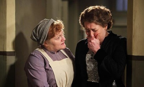 Mrs. Patmore and Mrs. Hughes