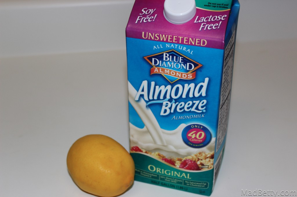 Lemon and Almond Milk