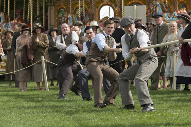 Downton Tug-of-War
