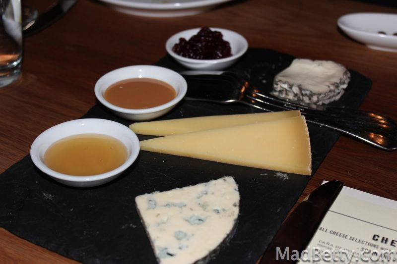 Cheese and accompaniments