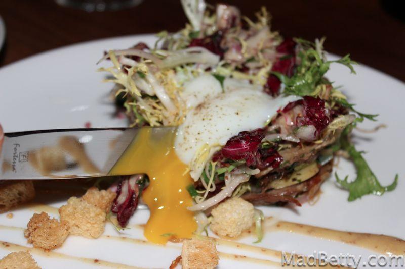 Lyonnaise Duck Salad