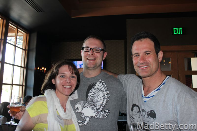 Cindy, Chris and Sam Calagione