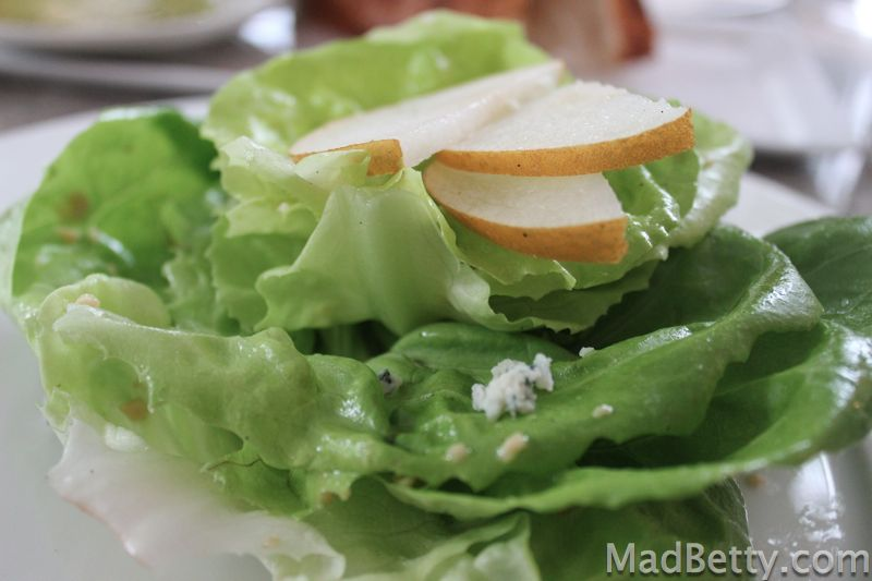 ... and fresh herbs butter lettuce and fresh herbs with maytag blue cheese