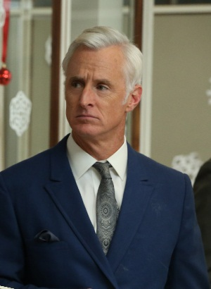 Roger Sterling's sideburns