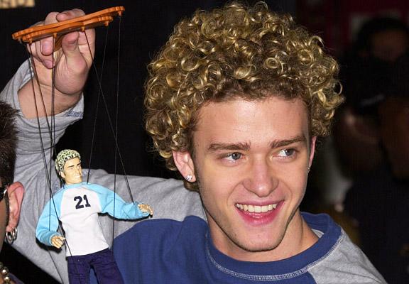 Justin Timberlake Curls