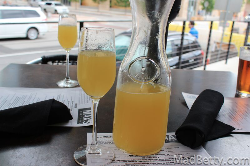 Max's Wine Dive Brunch Mimosas