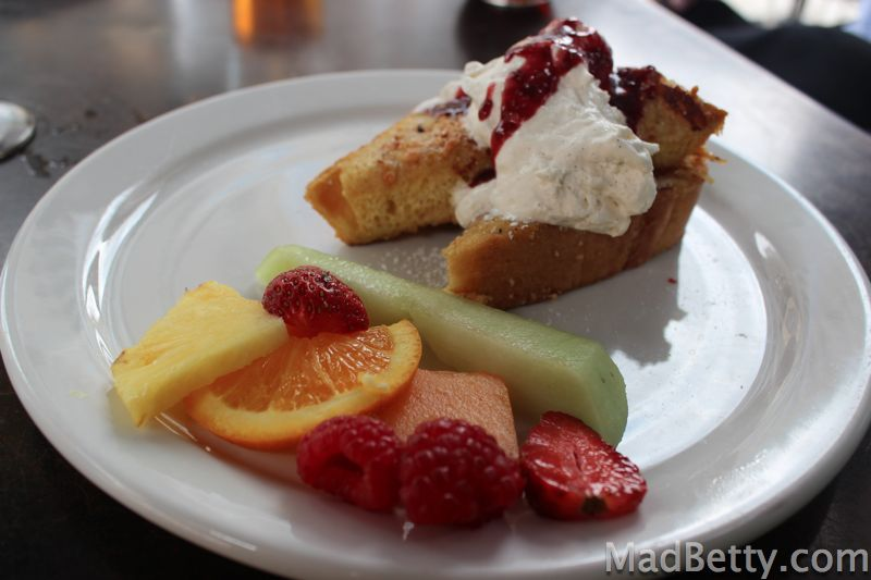 Max's Wine Dive Marcona Almond French Toast