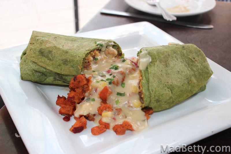 Max's Wine Dine Badass Breakfast Burrito