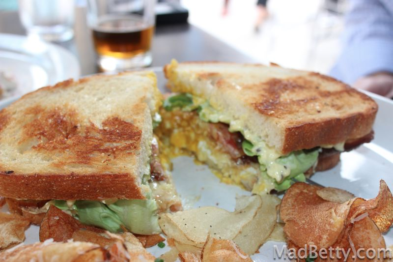 Max's Wine Dive Fried Egg Sandwich
