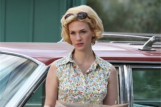 Betty Draper on Mad Men