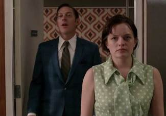 Ted and Peggy in Mad Men