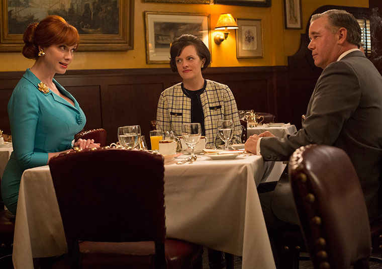 Mad Men Joan and Peggy