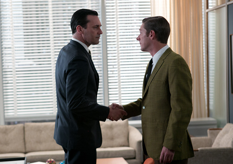 Mad Men Don and Ted