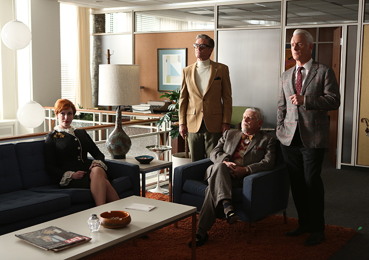 Mad Men Fire Don
