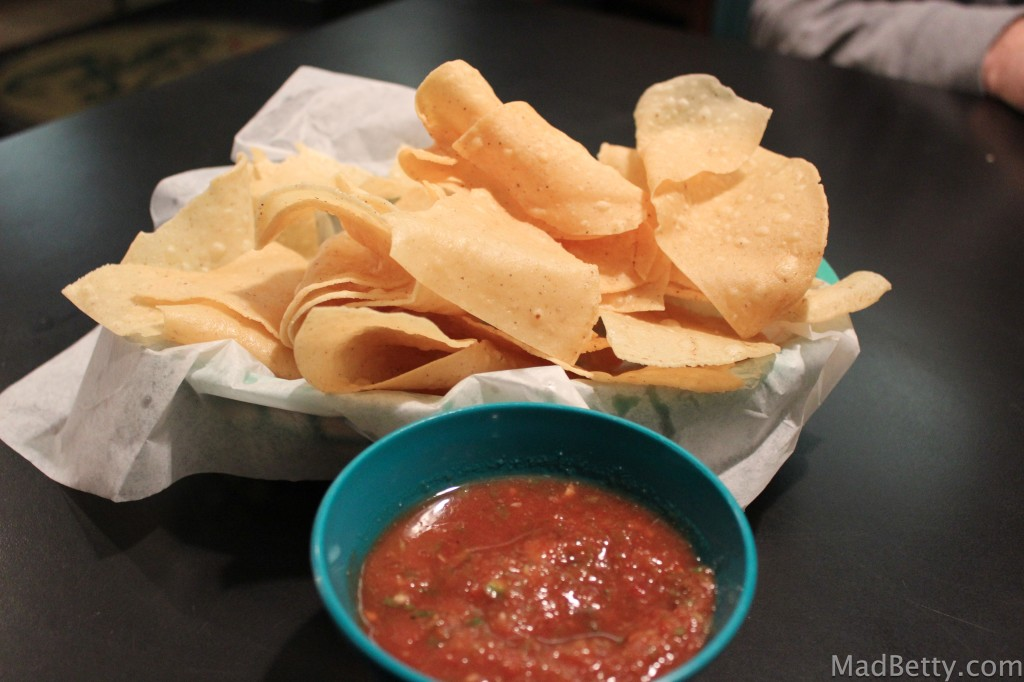 Flores chips and salsa