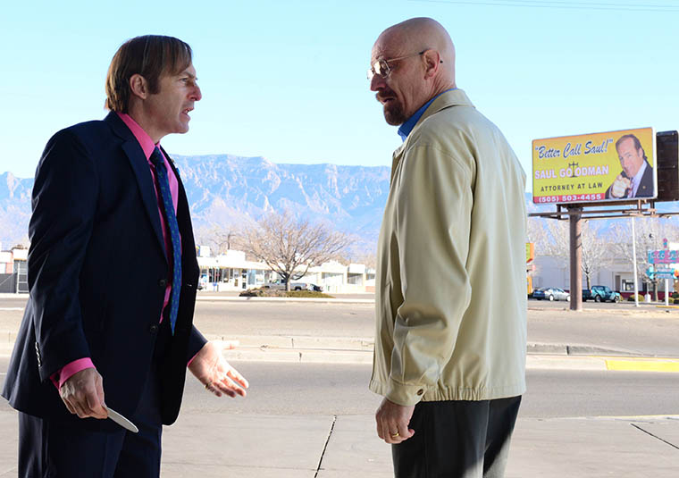 Breaking Bad Saul and Hank