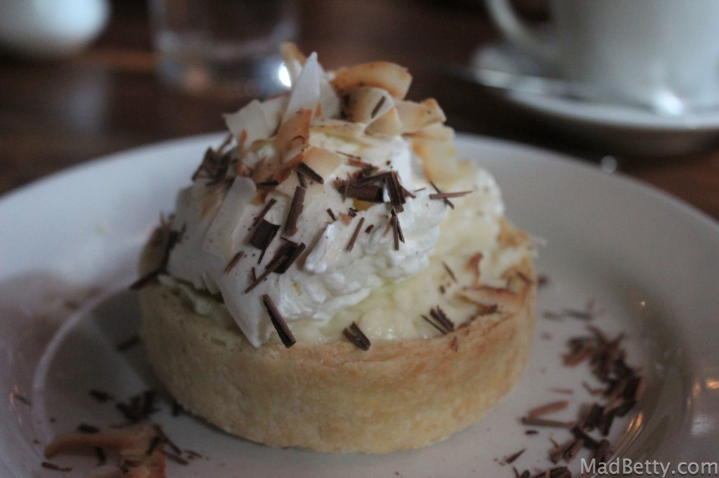 Lambert's coconut cream pie