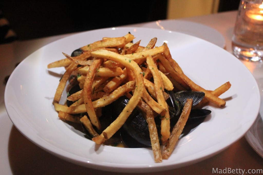 Mussels and Frites at Arro Austin Texas
