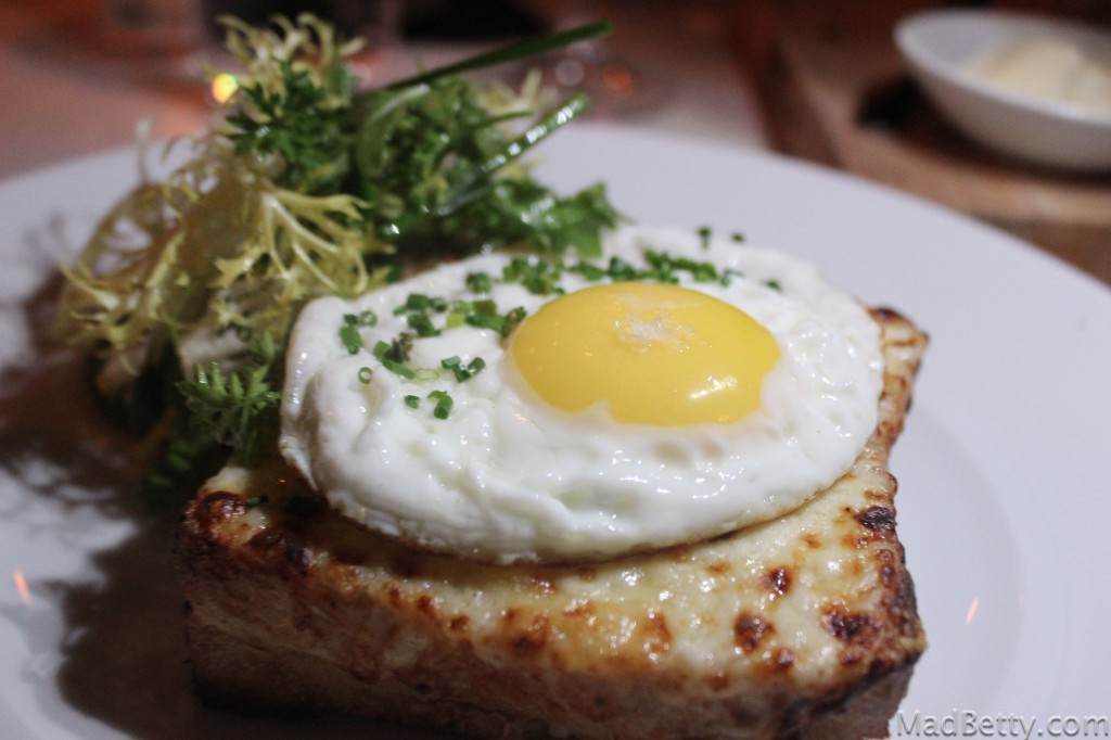 Croque Monsieur at Arro Austin Texas