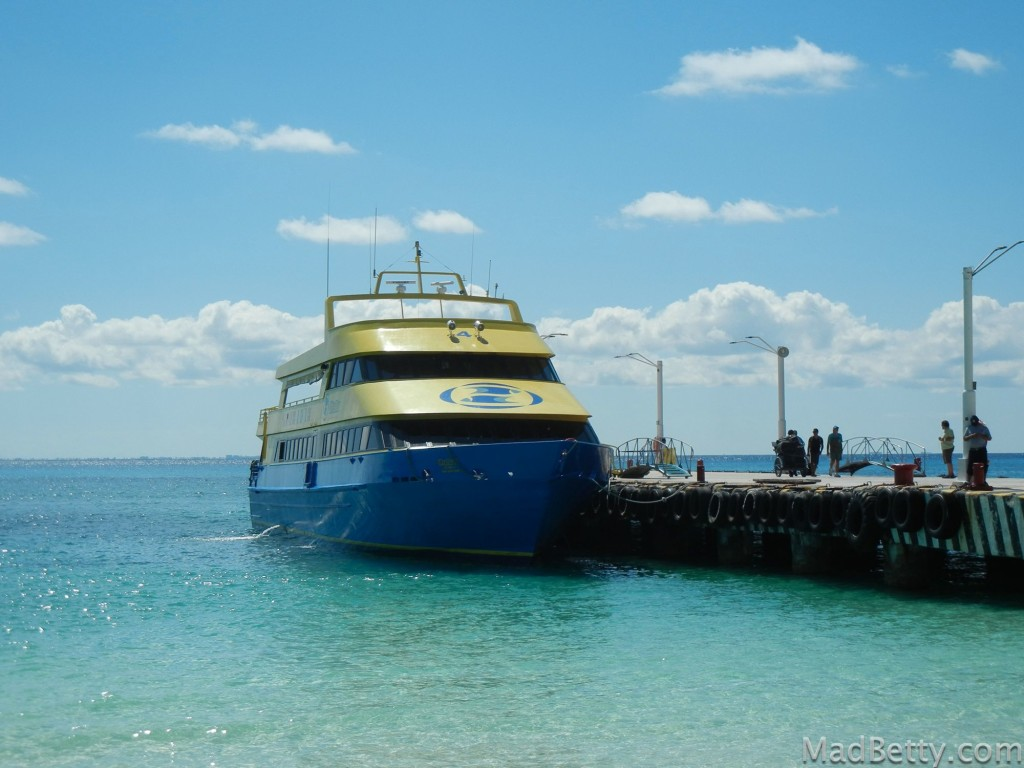 Ferry to Cozumel