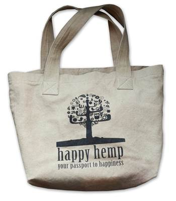 Happy Hemp bag
