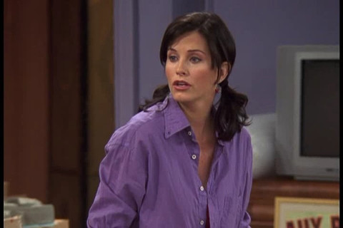 Courtney Cox as Monica Geller