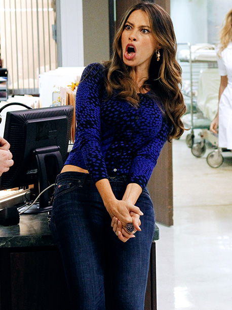 Sofia Vergara as Gloria on Modern Family