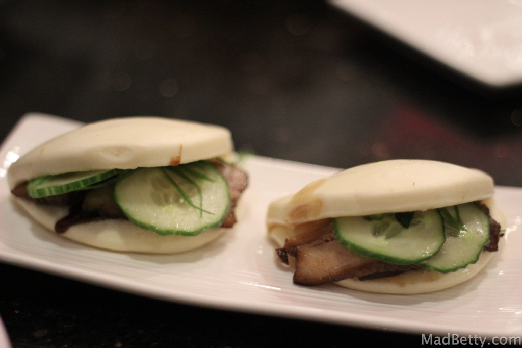 Pork Buns at Xian Sushi and Noodle