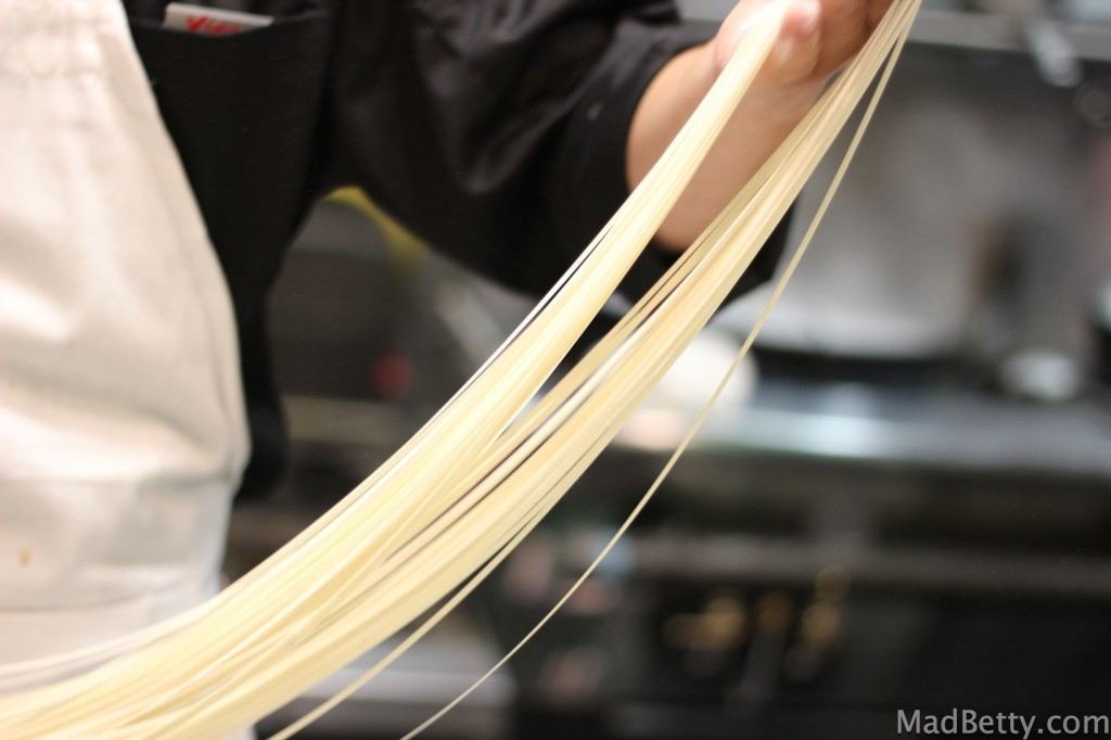 Hand-pulled noodles at Xian Sushi and Noodle