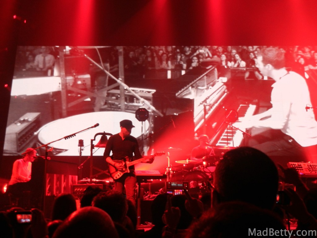 Coldplay in the Moody Theater for iTunes Festival at SXSW