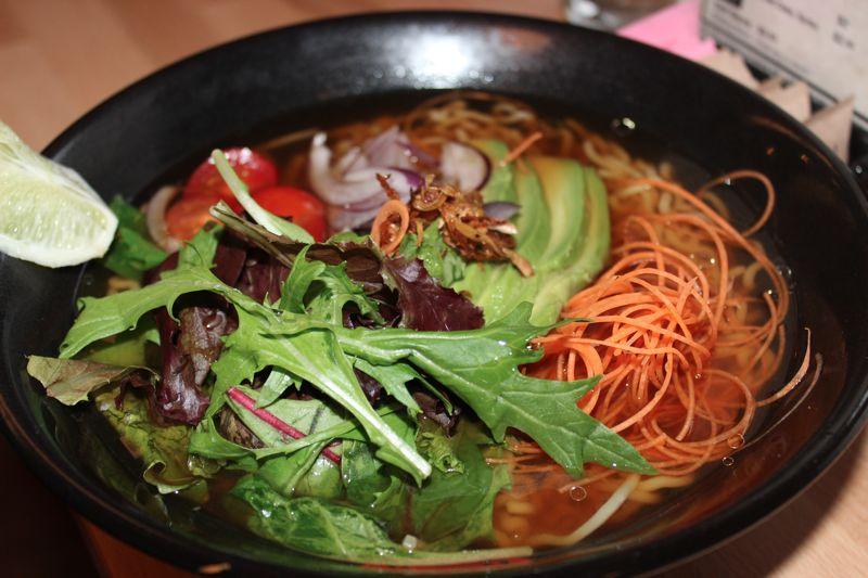 Daruma Ramen vegan bowl