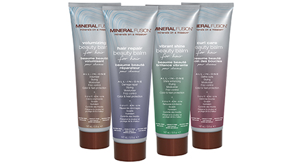 Mineral Fusion Beauty Balms for Hair