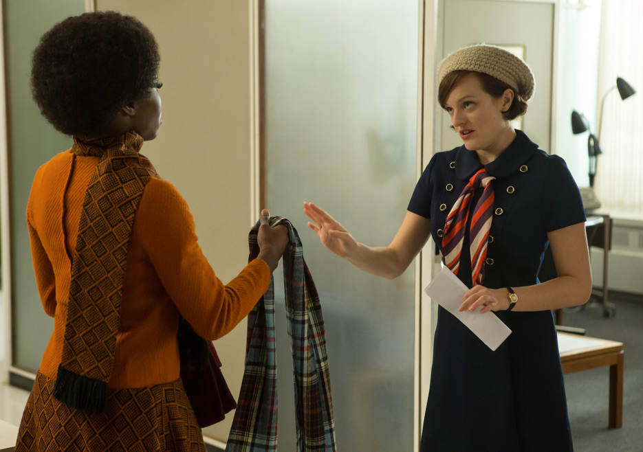 Shirley and Peggy, Mad Men