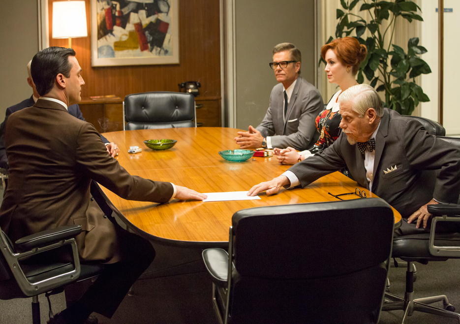 Don, Jim, Joan and Burt on Mad Men
