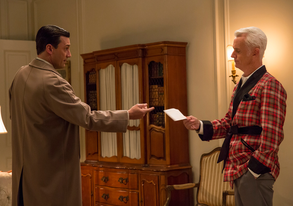 Don and Roger on Mad Men