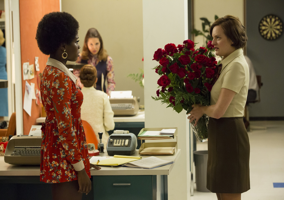 Shirley and Peggy in Mad Men