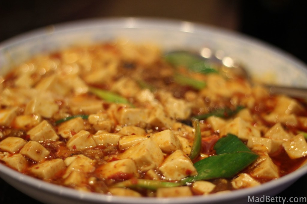 Ma-Po Tofu at Szechuan House, Austin Texas