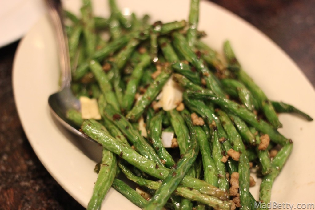 Dry Fried Green Beans at Szechuan House, Austin Texas