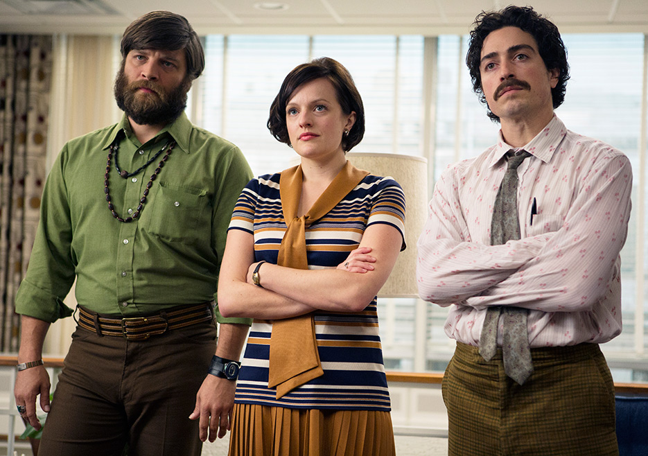 Stan, Peggy, and Ginsberg on Mad Men