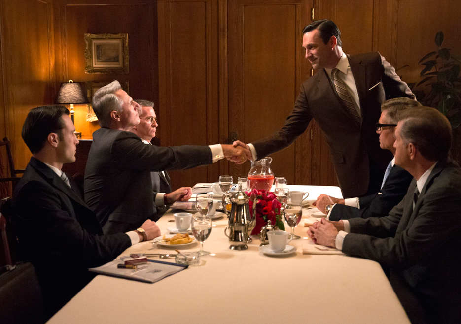 Philip Morris meeting on Mad Men